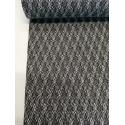 Tissu brillant argenté